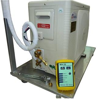 Пример определения качества содержащегося в оборудовании хладагента ГХФУ R-22