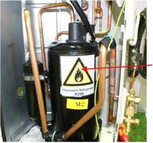 Схема соединения оборудования и инструментов для вакуумизации и заполнения системы хладагентом