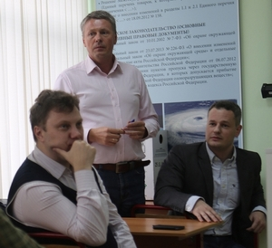 Illegal importation schemes were also covered by GaloPolimer electronegative gas and halons sales department head Fedor Fedotenkov, Russian Refrigeration general director Igor Vitoshkin, HRC Logistics general director Artem Lukin. They supplemented the speech of Mr. Skorenko with case studies of such schemes, told about possible ways of ODS disposal and answered numerous questions on, particularly, interaction of special agencies with business circles